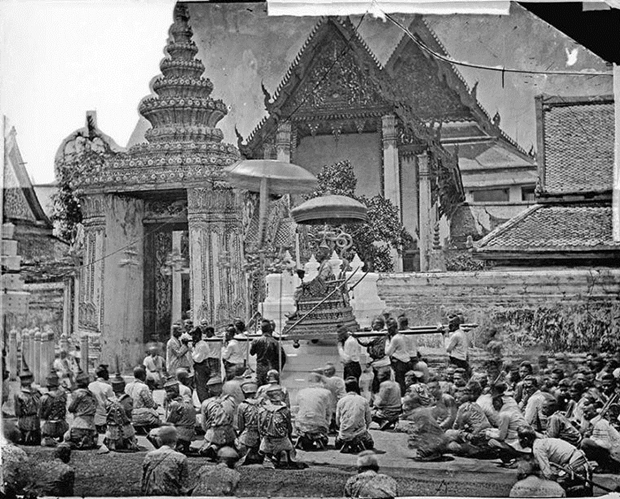 king of siam and procession