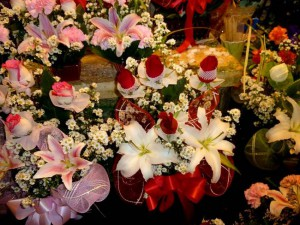 Thai flower bouquet for Valentine's Day