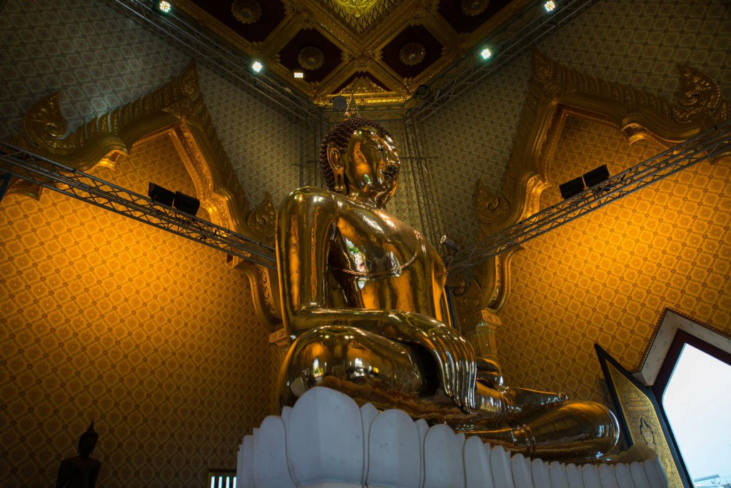 The Golden Buddha image*
