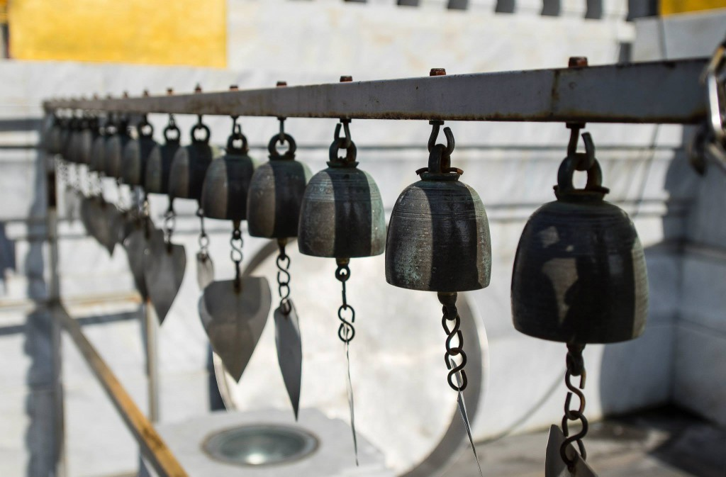 The temple bells*