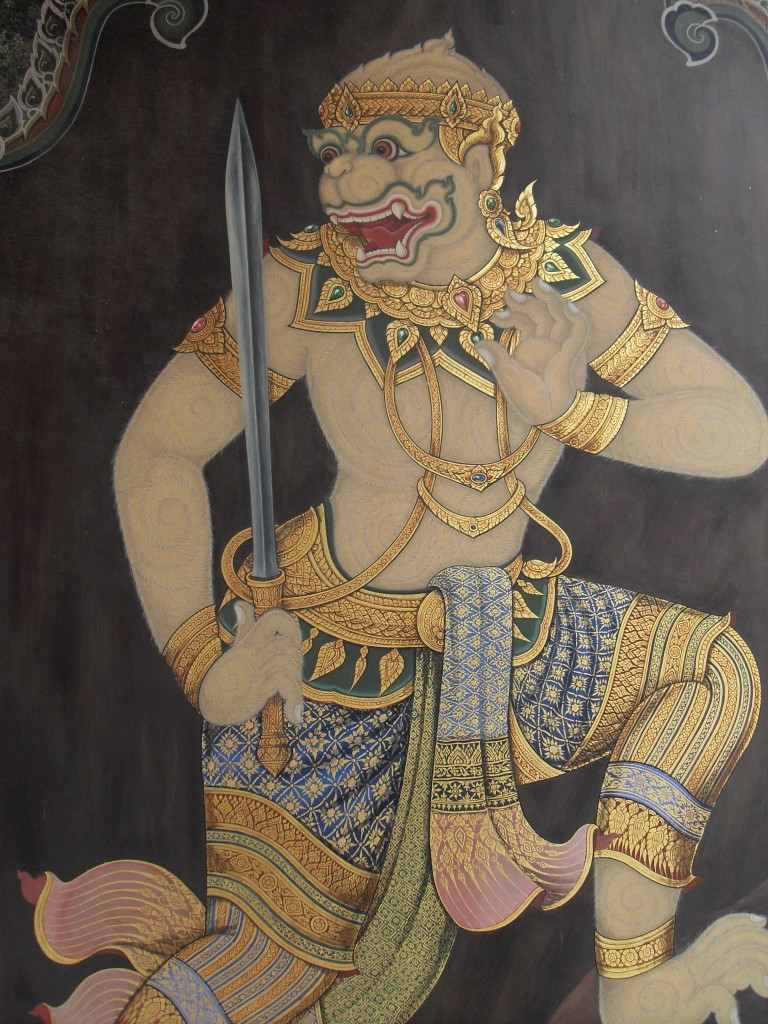 Hanuman the monkey god