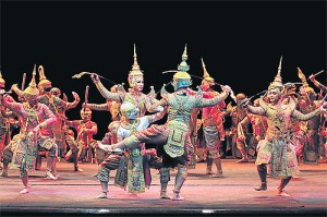 Khon - Thai dance, a battle scene (photo credit: bangkokpost.com)