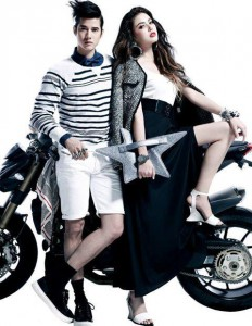 Mario and Mai Davika on Volume magazine 180 VOLUME WONDER 9 Cr. Volume Magazine