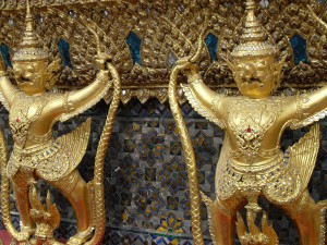 Garuda detail at the Grand Palace in Bangkok (photo taken by myself)