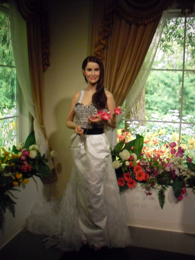 Ann as wax figure at Madame Tussauds in Bangkok (photo taken by myself)