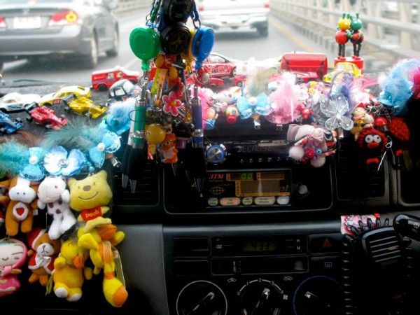 Thai Taxi Altars: Too much is never enough*