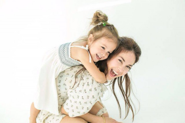 Paula Taylor and her daugther Lyla Jane*