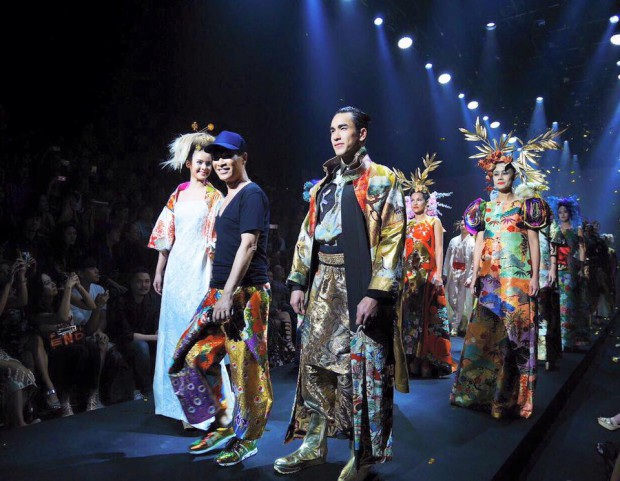 Thai Fashion Designer Nagara 'The Floating World' at BIFW 2015*