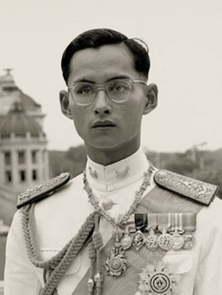 King Bhumibol Adulyadej, portrait from 1946 (photo: wikimedia.org)