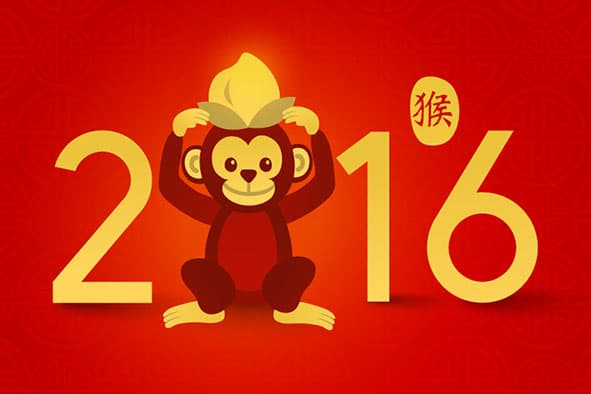 year of the monkey 2016 photo savingstipscomph - When Is Chinese New Year 2016