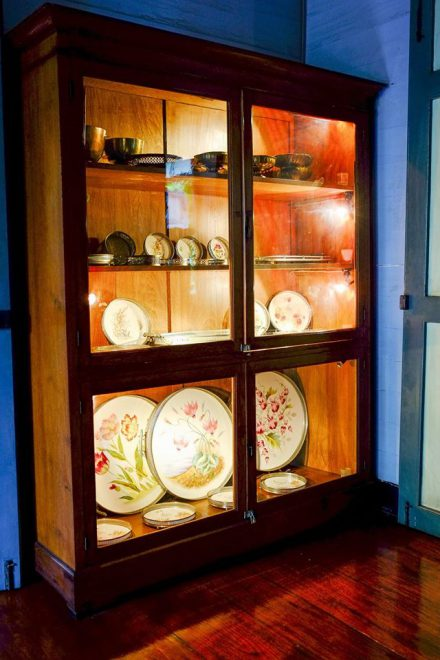Some more porcelain in a cabinet*
