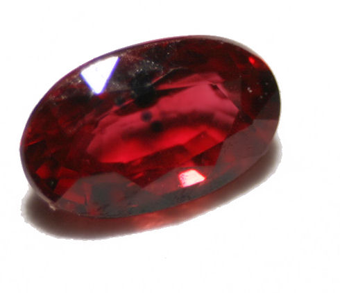 Red Ruby - the gem for Sunday and the God Surya (photo: Humanfeather, wikimedia.org)