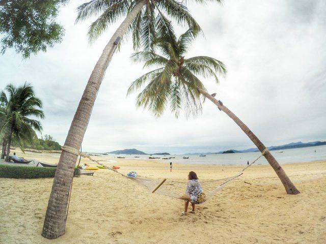 Chill in a hammock on one of the most beautiful Thai islands*
