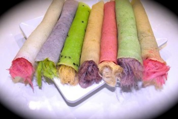 Colourful Roti Sai Mai