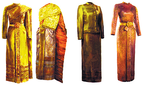 Traditional Thai dresses