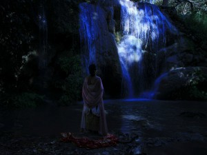 """Gost story, a scene from the film """"Uncle Boonmee who can recall past lives"""""""