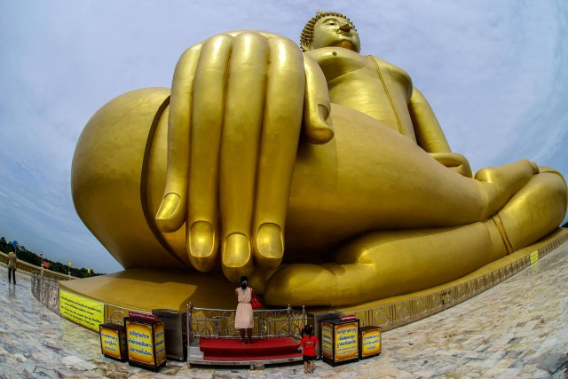 The Buddha's hand (photo credit: Amporn Konglapumnuay)