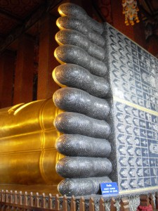 The Buddha's feet, Wat Pho