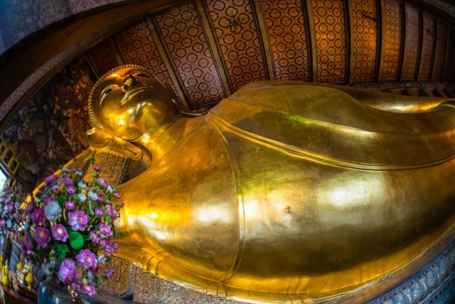 Reclining Buddha of Wat Pho, Bangkok (photo credit: Amporn Konglapumnuay)