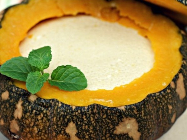 Thai pumpkin custard (photo credit: verygoodrecipes.com)