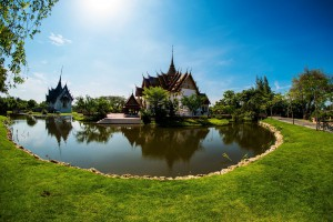 Monuments from Thai history at the Ancient City*
