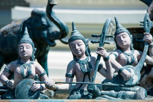 Stunning statues and details at Ancient Siam*