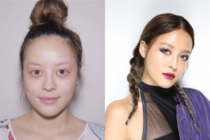 Pear shows in makeup tutorials how to transform oneself to a beauty (photo credit: bangkok.coconuts.co)