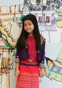 National clothing for children (photo credit: Queen Sirikit Museum of Textiles, FB page)