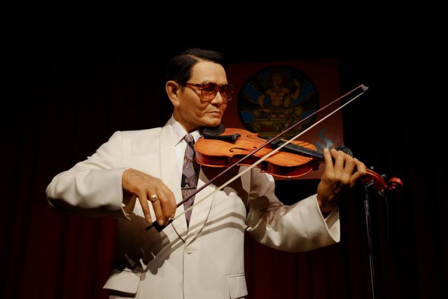 Khru Ee-ah Sunthornsanan, the first leader of the Musical Group of the Publicity Department*