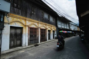 Historic houses in Chanthaboon Community*