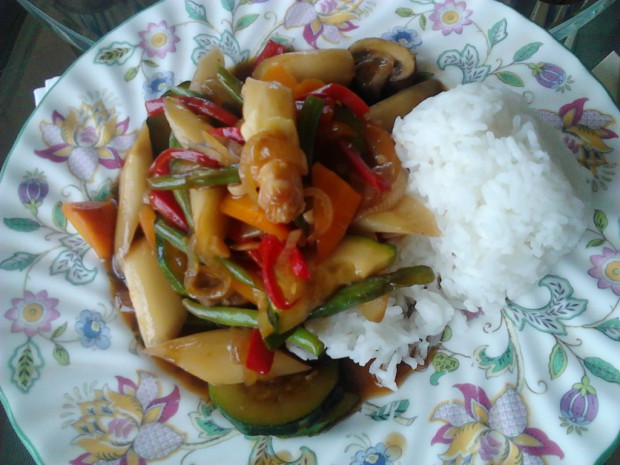 Homemade Pad Pak (photo taken by myself)