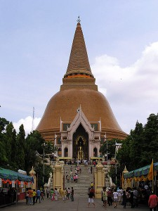 Phra Pathom Chedi (photo credit: ScorpianPK, wikimedia.org)