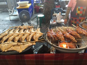 BBQ chicken, speciality on the cultural road
