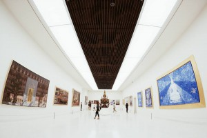 Displaying social knowledge and Buddhism in art, exhibition at MOCA*