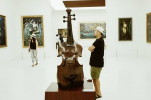 Unusual sculptures and works of art*