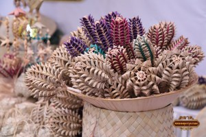 Products made from palm leaves, Lampang province