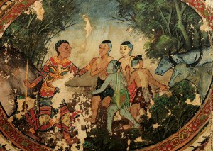 Sang Thong mural painting (photo: ich.culture.go.th)
