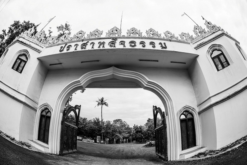 Entrance to the Sanctuary of Truth in Pattaya, Thailand