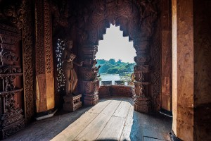 The Sanctuary of Truth is an amazing example of Thai woodcarving
