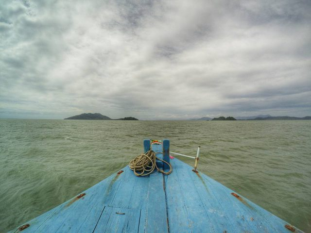 Heading to the island via ferry, Ao Yai*