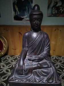 Thinking of the Buddha helped me through my intensive practice